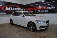 2015 BMW 1 SERIES 2.0 118D SPORT 5DOOR 147 BHP ALPINE WHITE £SOLD