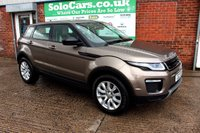 USED 2016 16 LAND ROVER RANGE ROVER EVOQUE 2.0 TD4 SE TECH 5d AUTO 177 BHP +SAT NAV +LEATHER +SERVICED.