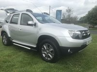 2015 DACIA DUSTER 1.5 DCI 4x4 LAUREATE 2 owners FSH only 40000 miles  £6995.00