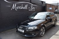 USED 2011 61 AUDI A3 2.0 TDI QUATTRO S LINE SPECIAL EDITION 3d 168 BHP RARE LITLLE CAR - 2.0 S LINE QUATTRO 4X4 - S/H TO 2019 INCL WATER PUMP - HALF LEATHER - SAT NAV - BOSE SPEAKERS - BLACK EDITION ALLOYS