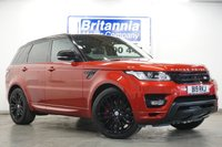 2015 LAND ROVER RANGE ROVER SPORT 3.0 SDV6 DIESEL AUTOBIOGRAPHY DYNAMIC TOP LUXURY SPEC 306 BHP £37990.00