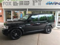 2014 LAND ROVER DISCOVERY 3.0 SDV6 GS 5d AUTO 255 BHP £16975.00