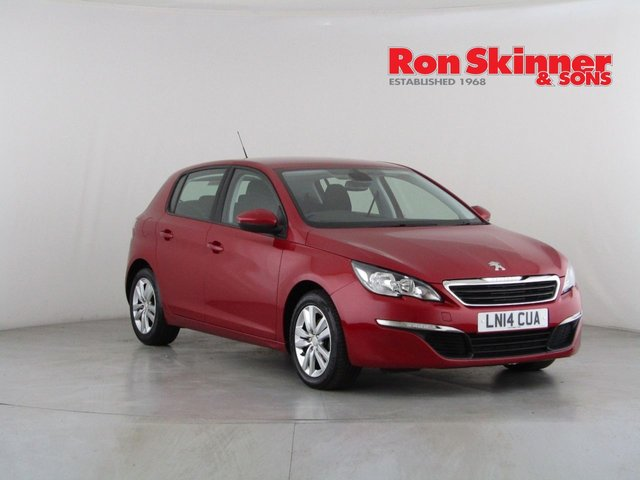 View our 2014 09 PEUGEOT 308 1.6 E-HDI ACTIVE 5d 114 BHP
