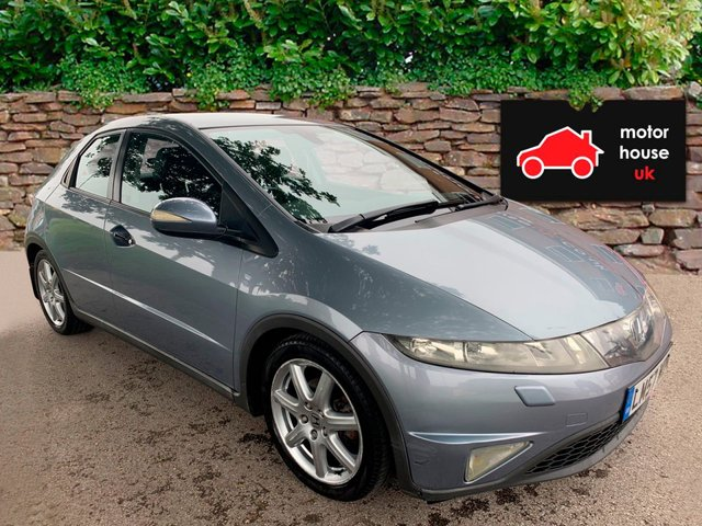 "USED 2008 57 HONDA CIVIC 1.8 i-VTEC EX 5dr i- SHIFT AUTOMATIC RARE AUTOMATIC EXAMPLE, ALLOY WHEELS, HEATED WINDSCREEN, CLIMATE CONTROL, RADIO/CD/AUX BLUE TOOTH, CRUISE CONTROL, ELECTRIC WINDOWS (AUTO) AND MIRRORS, HANDS FREE, MEMORY FOAM SEATS, AUTOMATIC, MAP, STOP START BUTTON, PARROT, 17"" ALLOYS"