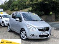 2011 VAUXHALL AGILA 1.2 SE 5d AUTO 93 BHP £4495.00