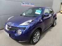 USED 2014 64 NISSAN JUKE 1.5 TEKNA DCI 5d 110 BHP FULL LEATHER, CLIMATE HEATED SEATS