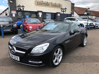 USED 2014 14 MERCEDES-BENZ SLK 2.1 SLK250 CDI BLUEEFFICIENCY 2d AUTO 204 BHP