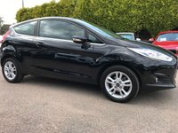 USED 2017 17 FORD FIESTA 1.25 ZETEC NAV 3d UNDER 5,000 MILES AND WITH SAT NAV  NO DEPOSIT  PCP/HP FINANCE ARRANGED, APPLY HERE NOW