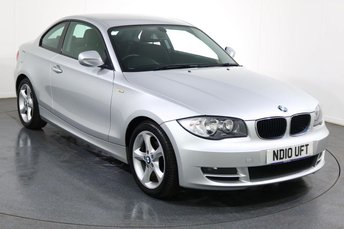 2010 BMW 1 SERIES 2.0 118D SPORT COUPE 2d 141 BHP £5995.00