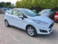 USED 2017 17 FORD FIESTA 1.0 ZETEC 3d WITH SAT NAV  AND FORD WARRANTY  NO DEPOSIT  PCP/HP FINANCE ARRANGED, APPLY HERE NOW