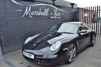 USED 2008 57 PORSCHE 911 3.8 CARRERA 2 TIPTRONIC S 2d AUTO 355 BHP STUNNING LOW MILEAGE EXAMPLE - 6 STAMPS TO 34K MILES - NAV - 19 INCH TURBO ALLOYS