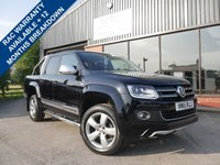 USED 2015 15 VOLKSWAGEN AMAROK 2.0 DC TDI ULTIMATE 4MOTION 1d AUTO 180 BHP FULL SAT NAV, ULTIMATE SPEC, LOAD LINER, BLUETOOTH, LED HEADLIGHTS WITH DAYTIME RUNNING