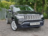 2014 JEEP COMPASS 2.1 CRD LIMITED 5d 161 BHP £6995.00