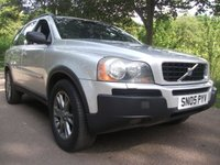 USED 2005 05 VOLVO XC90 2.4 D5 SE 5d AUTO 7 SEATER BARGAIN TO CLEAR TRADE SALE WARRANTY AVAILABLE = FULL SERVICE AVAILABLE + DELIVERY AVAILABLE == THERE IS ADMIN FEE APPLIES ON THIS CAR £199 == LEATHER INTERIOR + CRUISE CONTROL + WE VALET THIS CAR BUT WILL DO WITH ANOTHER ONE + DUE TO HIGH MILEAGE WE SELLING AS TRADE SALE