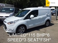 USED 2014 64 FORD TRANSIT CONNECT LIMITED 1.6 TDCi 200 L1  114 BHP 6 Speed *3 SEAT*FULLY LOADED*