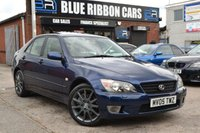 USED 2005 05 LEXUS IS 2.0 200 SE 4d AUTO 153 BHP 1 OWNER, 11 STAMP SERVICE HISTORY