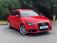 USED 2011 11 AUDI A1 1.4 TFSI S LINE 3d AUTO One Former Keeper | Misano Red