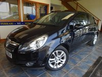 USED 2010 60 VAUXHALL CORSA 1.2 SXI A/C 3d 83 BHP 64 MPG! INSURANCE GROUP 6!