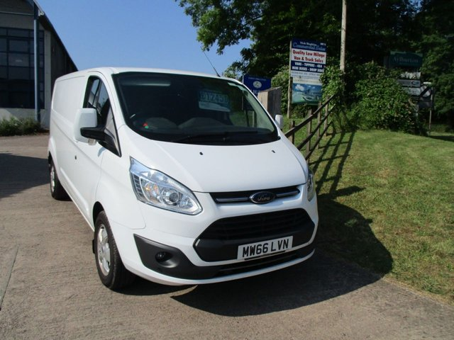 2016 66 FORD TRANSIT CUSTOM 2.0 TDCI TURBO DIESEL 290 LIMITED 130 BHP LWB L2 H1