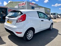 USED 2014 14 FORD FIESTA 1.5 BASE TDCI car derived van 1 owner Fiesta 1.5 TDCI Panel van with air con, rear parking sensors and bluetooth