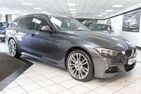 2015 BMW 3 SERIES 320D XDRIVE M SPORT TOURING AUTO 181 BHP £14450.00
