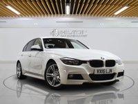 USED 2015 15 BMW 3 SERIES 2.0 320D M SPORT 4d AUTO 181 BHP SATNAV | LEATHERS | ALLOYS