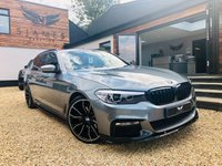 USED 2017 67 BMW 5 SERIES 2.0 520D M SPORT TOURING 5d AUTO 188 BHP
