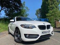"USED 2017 BMW 2 SERIES 1.5 218I SPORT 2d 134BHP 2KEYS+NAV+ELECS+17""ALLOYS+AUX+USB+CLIMATE+PARK+SPORT+CLEAN CAR+"