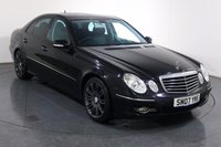 USED 2007 07 MERCEDES-BENZ E CLASS 1.8 E200 KOMPRESSOR SPORT 4d 181 BHP Demo and ONE OWNER From New