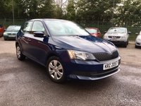 USED 2016 SKODA FABIA 1.0 S MPI 5d  LOW MILEAGE AND LOW TAX/ INSURANCE NO DEPOSIT PCP/ECP/HP FINANCE ARRANGED, APPLY HERE NOW