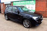 USED 2015 15 BMW X3 2.0 XDRIVE20D M SPORT 5d 188 BHP +ONE OWNER +XDRIVE +FSH.