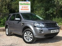 USED 2014 64 LAND ROVER FREELANDER 2 2.2 SD4 SE 5dr AUTO Full Leather, PDC, Cruise