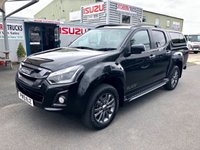USED 2019 ISUZU D-MAX Blade Auto with aeroklas canopy (216019 model year) Slightly Used D-Max Blade Auto Euro 6 Engine 164 PSi