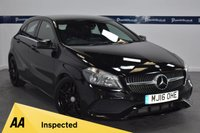 USED 2016 16 MERCEDES-BENZ A CLASS 2.1 A 220 D AMG LINE 5d AUTO 175 BHP (GLOSS BLACK ALLOYS)