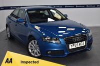 USED 2009 59 AUDI A4 1.8 TFSI SE 4d 160 BHP (ONE OWNER - FULL SERVICE HISTORY)
