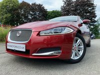 "USED 2014 14 JAGUAR XF 2.2 D LUXURY 4d AUTO 163 BHP 2KEYS+NAV+LEATHERTRIM+PARK+CD+CLIMATE+17""ALLOY+HISTORY+MEDIA+AUX+"