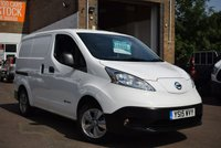 USED 2015 15 NISSAN NV200 0.0 E TEKNA RAPID PLUS 1d AUTO 108 BHP The perfect London van with no ULEZ charge as this is the fully electric NV200e TEKNA RAPID PLUS AUTO in white with just 12000 miles. 1 owner, 2 keys and records for 3 services.