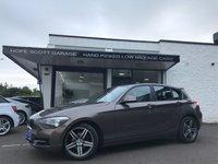 2013 BMW 1 SERIES 1.6 116I SPORT 5d 135 BHP £SOLD