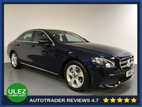 USED 2018 18 MERCEDES-BENZ E CLASS 2.0 E 220 D SE 4d AUTO 192 BHP FULL HISOTRY - EURO 6 - SAT NAV - LEATHER - PARKING SENSORS - CAMERA - AIR CON - BLUETOOTH - DAB
