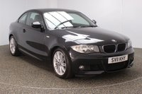 USED 2011 11 BMW 1 SERIES 2.0 118D M SPORT 2DR 141 BHP FULL SERVICE HISTORY + PARKING SENSOR + CLIMATE CONTROL + MULTI FUNCTION WHEEL + RADIO/CD + ELECTRIC WINDOWS + ELECTRIC MIRRORS + 17 INCH ALLOY WHEELS