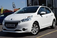 USED 2014 14 PEUGEOT 208 1.0 ACCESS PLUS 5d 68 BHP FULL MAIN DEALER HISTORY, 4 PEUGEOT STAMPS!