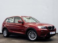 USED 2013 62 BMW X3 2.0 XDRIVE20D SE 5d AUTO 181 BHP PRO NAVIGATION with ELECTRIC MEMORY SEATS & GOOD HISTORY......