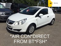 USED 2010 60 VAUXHALL CORSA 1.3 SWB CDTI *AIR CON*DIRECT FROM BT*