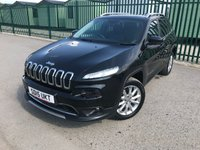 2015 JEEP CHEROKEE 2.0 M-JET LIMITED 5d 138 BHP PANORAMIC ROOF SAT NAV LEATHER PRIVACY FSH £12990.00