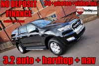 2016 FORD RANGER 3.2 LIMITED 4X4 DCB TDCI AUTO 197 BHP + HARDTOP £SOLD