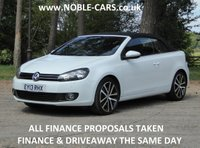 2013 VOLKSWAGEN GOLF 2.0 GT TDI BLUEMOTION TECHNOLOGY DSG 2d AUTO 139 BHP £SOLD