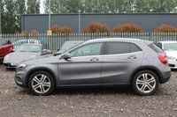 USED 2014 14 MERCEDES-BENZ GLA-CLASS 2.1 GLA220 CDI 4MATIC SE EXECUTIVE 5d AUTO 168 BHP STUNNING METALLIC MOUNTAIN GREY PAINT, BLACK ARTICO LEATHER, HEATED SEATS, ALLOY WHEELS, PARKING SENSORS, SAT NAV, BLUETOOTH, CD PLAYER, CRUISE CONTROL, VERY LOW MILEAGE, 4X4, SERVICE HISTORY