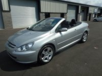 2004 PEUGEOT 307 2.0 COUPE CABRIOLET 2d 135 BHP 69000 MLES LEATHER £999.00