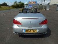 USED 2004 PEUGEOT 307 2.0 COUPE CABRIOLET 2d 135 BHP 69000 MLES LEATHER