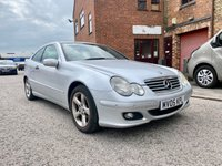 USED 2005 05 MERCEDES-BENZ C CLASS 1.8 C180 KOMPRESSOR SE SPORTS 3d 141 BHP